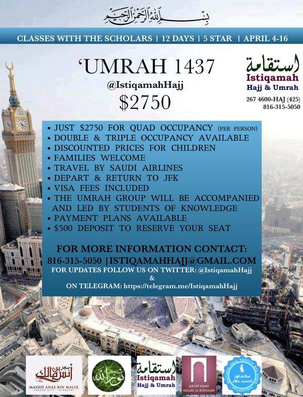 2016 'Umrah