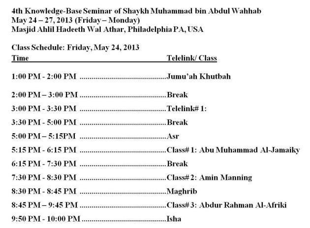 May Seminar 2013 Sechdule - Day 1